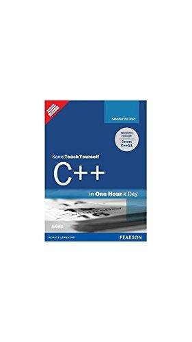 9789332516021: Sams Teach Yourself C++ In One Hour A Day 7th Ed