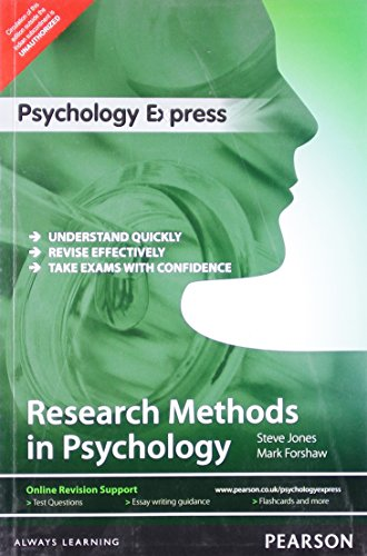 9789332516922: Psychology Express: Research Methods In Psychology