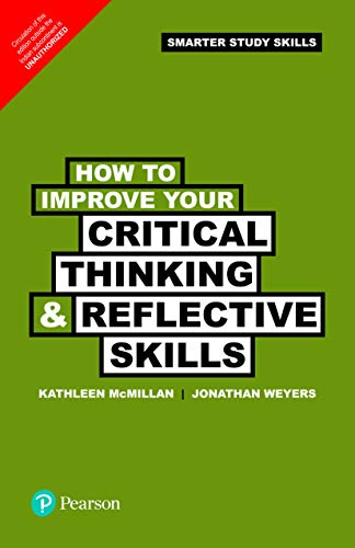 9789332517189: How To Improve Your Critical Thinking & Reflective Skills