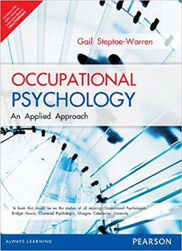 9789332517264: Occupational Psychology: An Applied Approach
