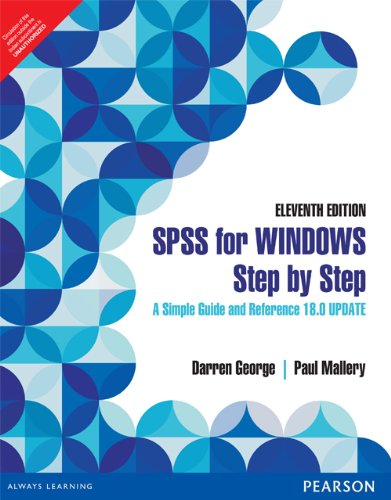 9789332518124: SPSS for Windows Step by Step : A Simple Guide and Reference 18.0 Update 11th