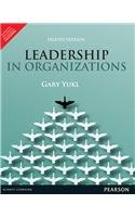 9789332518131: Leadership in Organizations 8th By Gary A. Yukl (International Economy Edition)