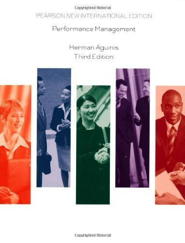 9789332518155: Performance Management 3rd edition by Herman Aguinis (2012) Paperback
