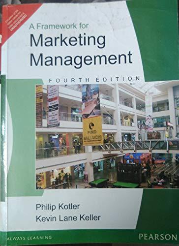 9789332518179: Framework for Marketing Management