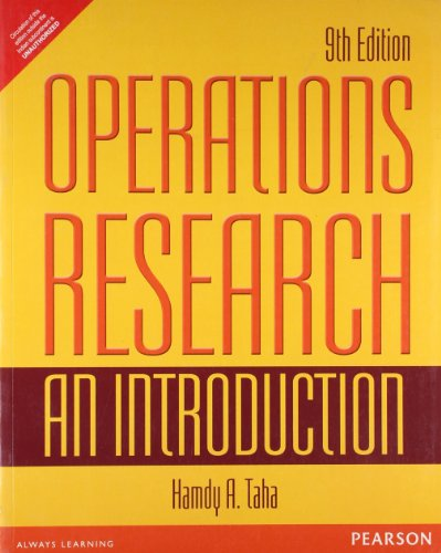 9789332518223: OPERATIONS RESEARCH: AN INTRODUCTION 9TH EDITION