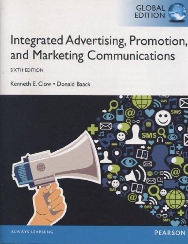 9789332518377: Integrated Advertising, Promotion, and Marketing Communications