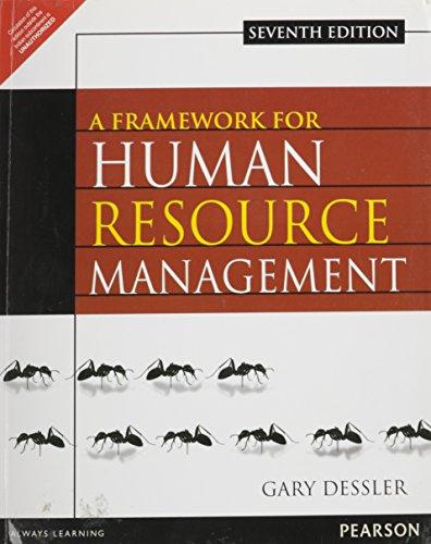 9789332518438: A FRAMEWORK FOR HUMAN RESOURCE MANAGEMEN