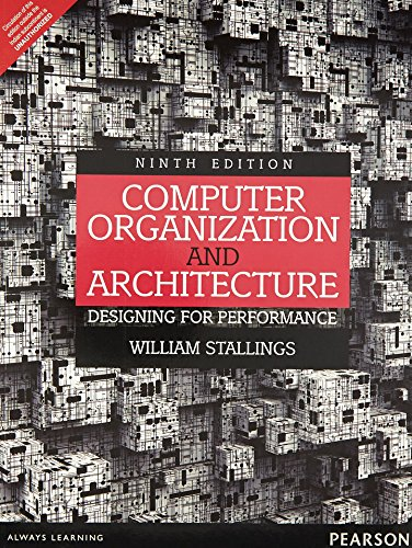 9789332518704: COMPUTER ORGANIZATION AND ARCHITECTURE: DESIGNING FOR PERFORMANCE