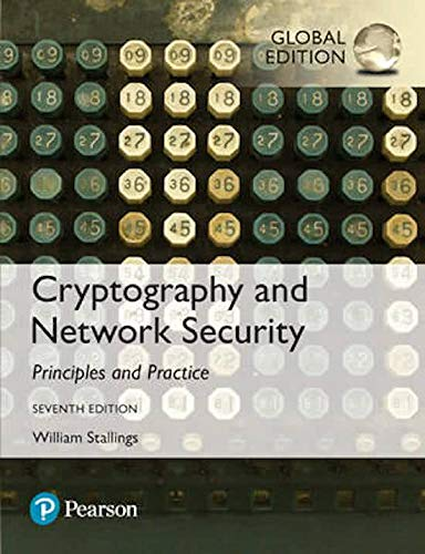 Cryptography and network security by william stallings 6th edition.