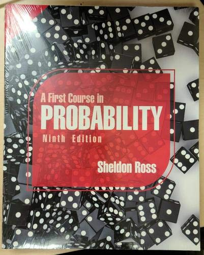 9789332519077: A First Course in Probability
