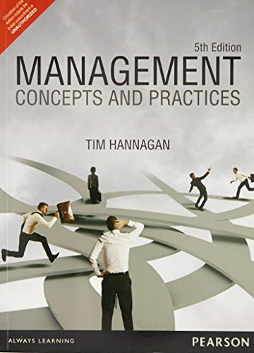 9789332519480: Management: Concepts and Practices