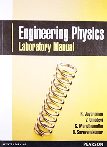 Engineering Physics Laboratory Manual: Jayaraman