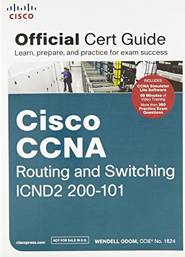9789332520950: Cisco CCNA Routing and Switching ICND2 200-101 Official Cert Guide