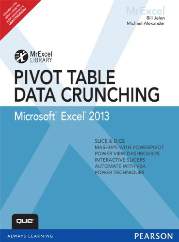 9789332523968: Excel 2013 Pivot Table Data Crunching 1