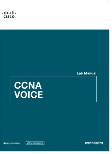 9789332523999: Ccna Voice Lab Manual