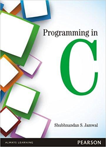 Programming in C: Jamwal, Shubhnandan S