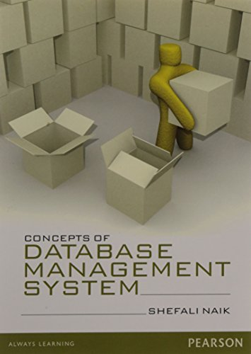 Concepts of Database Management System: Shefali Naik