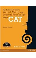 9789332528833: The Pearson Guide To Verbal Ability And Logical Reasoning For The Cat With Cd