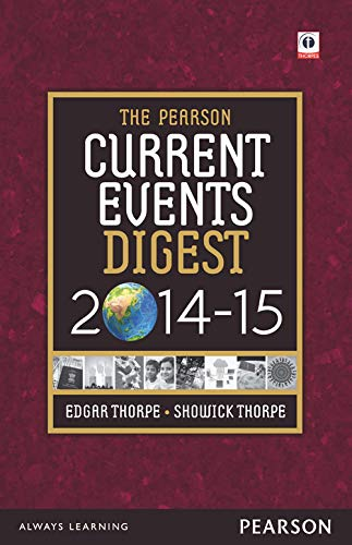 The Pearson Current Events Digest 2014-15: Edgar Thorpe,Showick Thorpe
