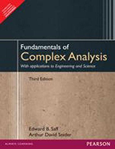 9789332535091: Fundamentals of complex analysis