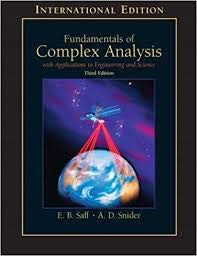 Fundamentals Of Complex Analysis With Applications To Engineering, Science, And Mathematics 3/E
