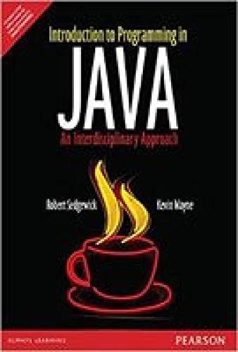 Introduction To Programming In Java: An Interdisciplinary: Robert Sedgewick