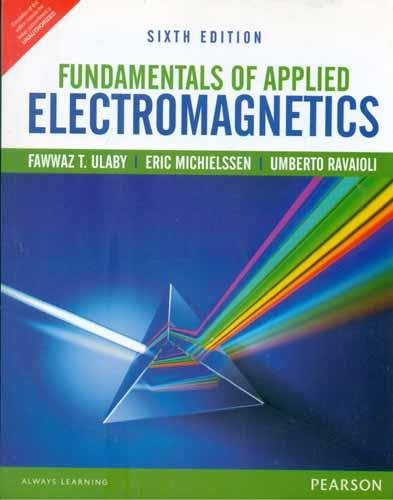 Electromagnetics For Engineers Ulaby Pdf