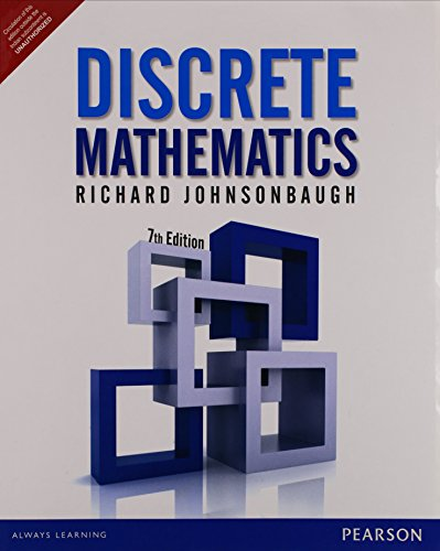 9789332535183: FAST SHIP - RICHARD JOHNSONBAUGH 7e Discrete Mathematics Z61
