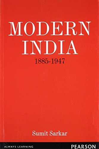 Modern India 1885-1947: Sumit Sarkar