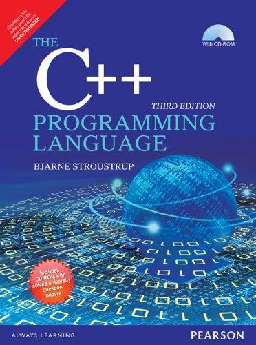 9789332535824: C++ Programming Language - Anna University, 3/E