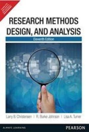 9789332536517: Research Methods Design and Analysis