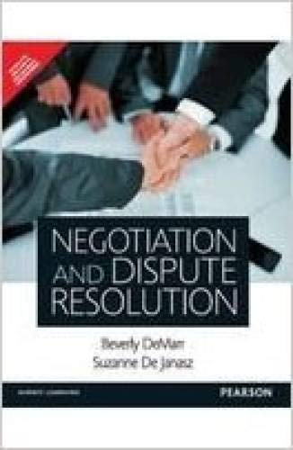 9789332536579: Negotiation and Dispute Resolution