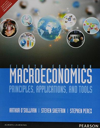Macroeconomics: Principles Applications: O'Sullivan, Arthur, et