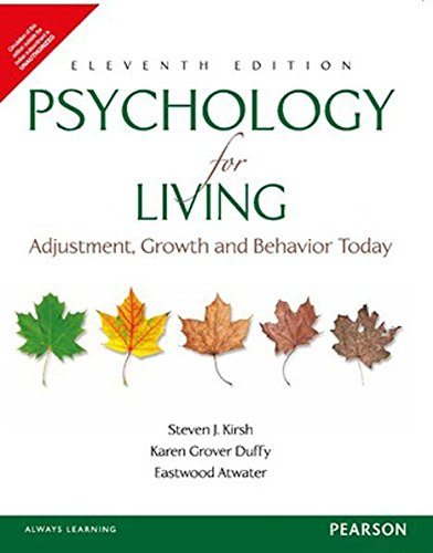 9789332537934: PSYCHOLOGY FOR LIVING, 11TH EDITION