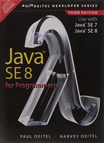 9789332539068: Java SE8 for Programmers, 3/e