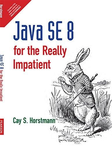 Java SE 8 for the Really Impatient: Cay S. Horstmann