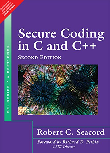 Secure Coding in C and C++ (Second: Robert C. Seacord