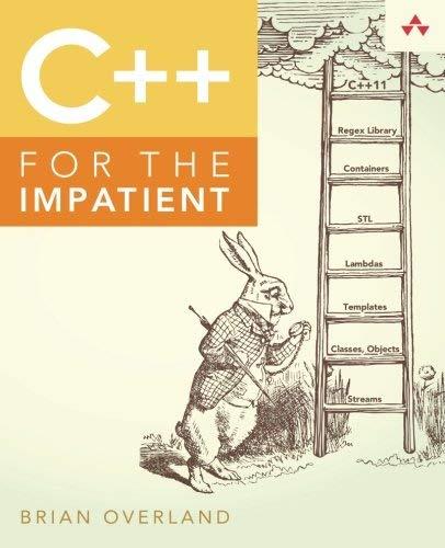 9789332539228: C++ for the Impatient