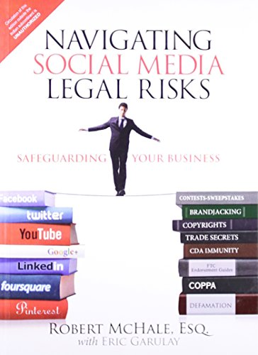 9789332539334: Navigating Social Media Legal Risks: Safeguarding Your Business