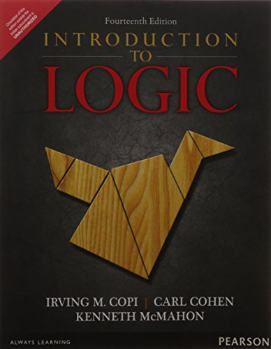 9789332539617: Introduction to Logic, 14th ed.