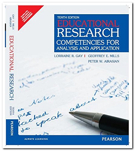 9789332541061: Educational Research: Competencies for Analysis and Applications
