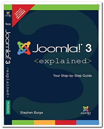 9789332541276: Joomla! 3 Explained: Your Step by Step G: Your Step-by-Step Guide