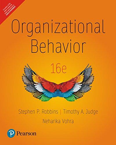 9789332542228: Organizational Behavior, 16Th Edition