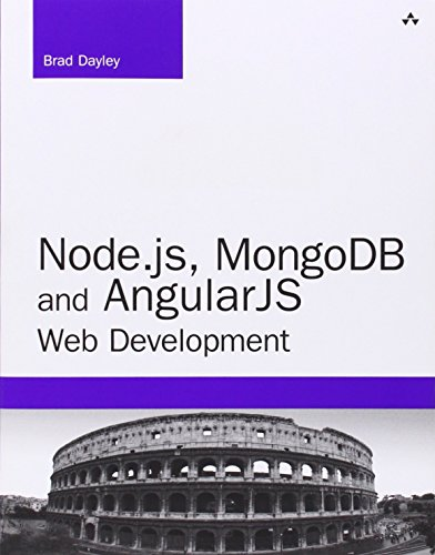 9789332542365: Node.js, MongoDB, and AngularJS Web Development (Developer's Library)