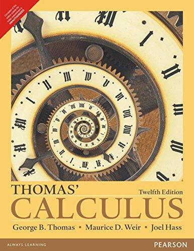 9789332542426: Thomas Calculus 12Ed