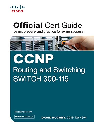 9789332543492: Ccnp Routing and Switching Switch 300-115 Official Cert Guide