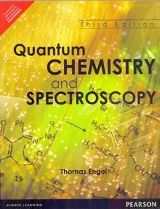 9789332544956: Quantum Chemistry and Spectroscopy (3rd Edition)