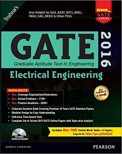 9789332547285: GATE ELECTRICAL ENGINEERING 2016
