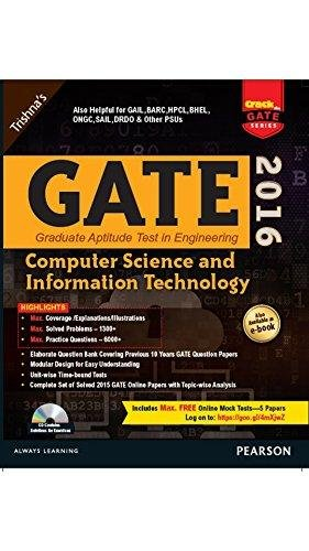 9789332547315: GATE COMPUTER SCIENCE & IT 2016