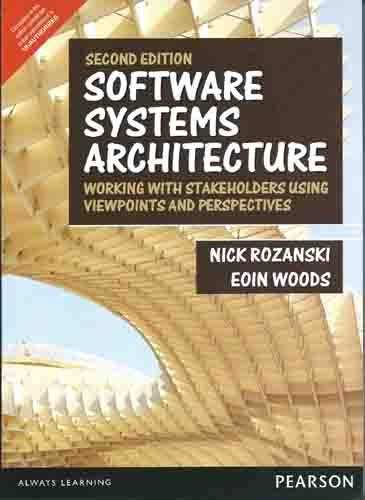 9789332547957: Software Systems Architecture